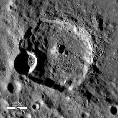 Slipher Crater