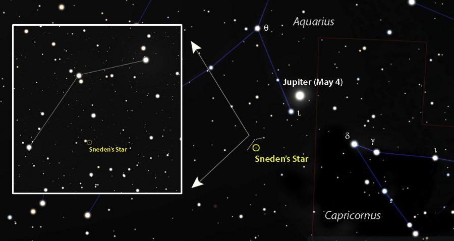 Sneden's Star maps