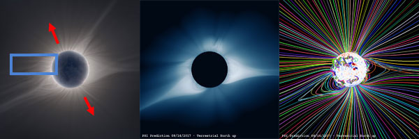 Solar Corona Comparison