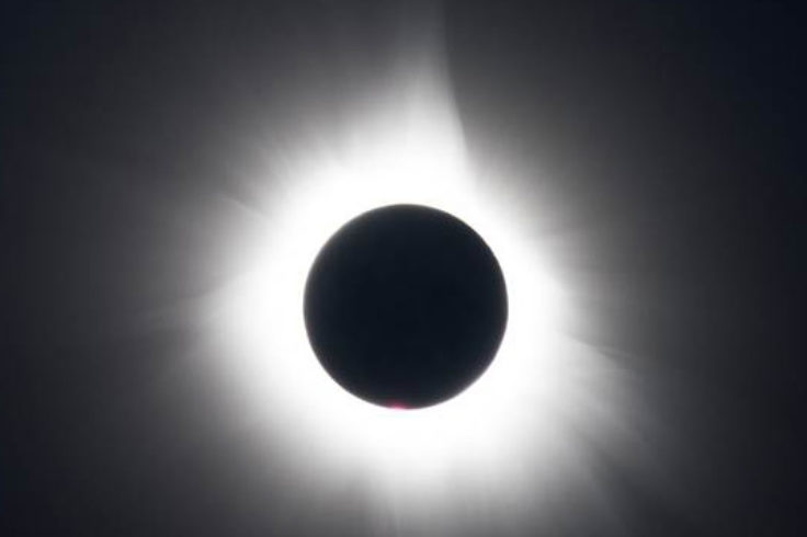 Solar eclipse from Indonesia