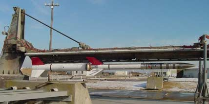 Terrier-Orion sounding rocket