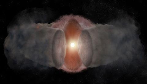 A massive star is born