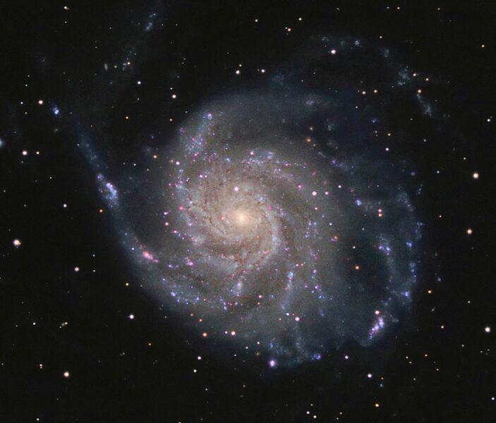 M101 spiral galaxy