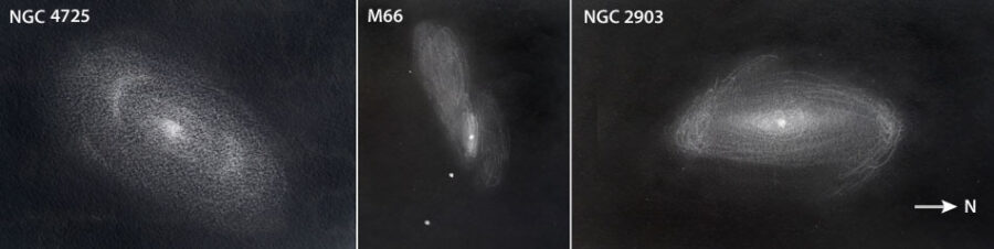 Interesting spiral galaxies