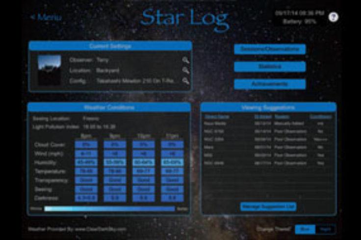 StarLog by Emerald Bay Software