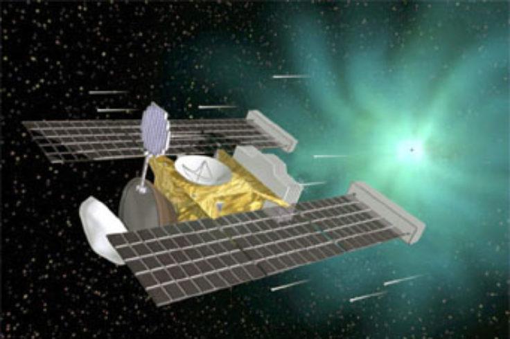Stardust encounters Comet Wild 2