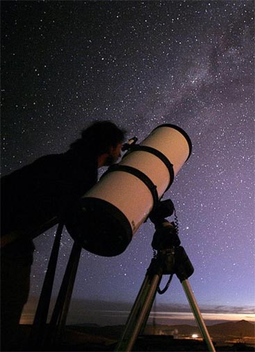 Stargazing at Mamalluca Observatory