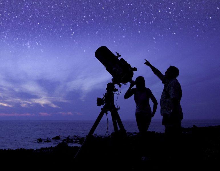 Stargazing, Hawaiian style
