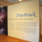 Entrance to the Starstuck exhibit at the Bates College Museum of Art in Lewiston, Maine.