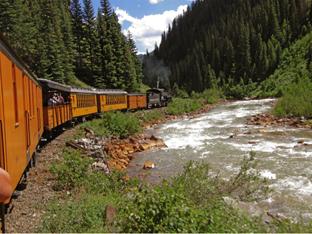 In the Colorado Rockies
