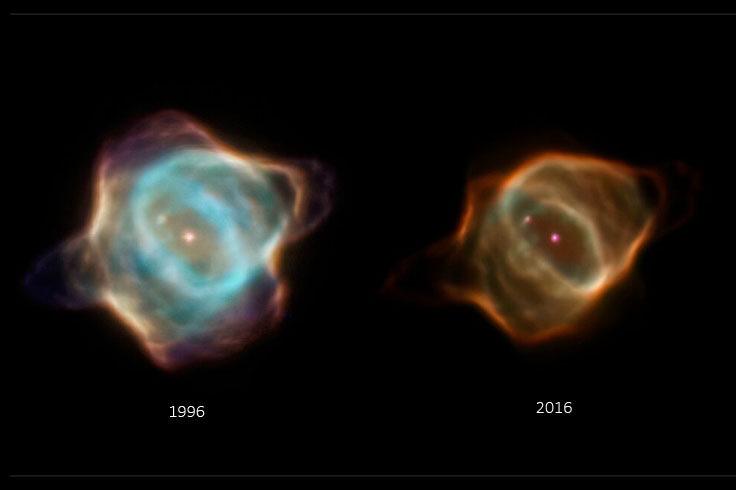 The fading Stingray Nebula