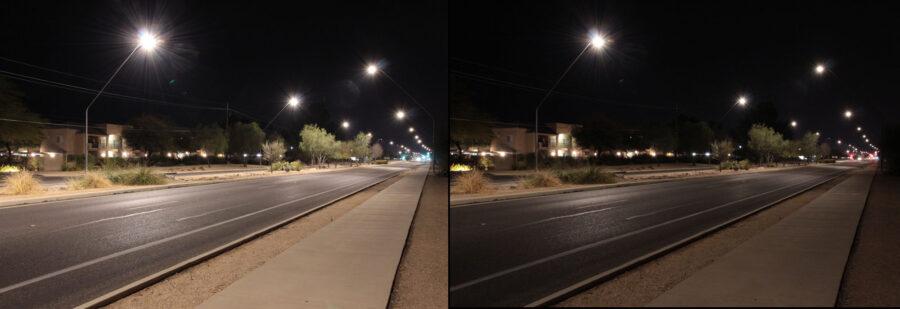 Street light comparison