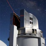 Laser beam from Subaru Telescope