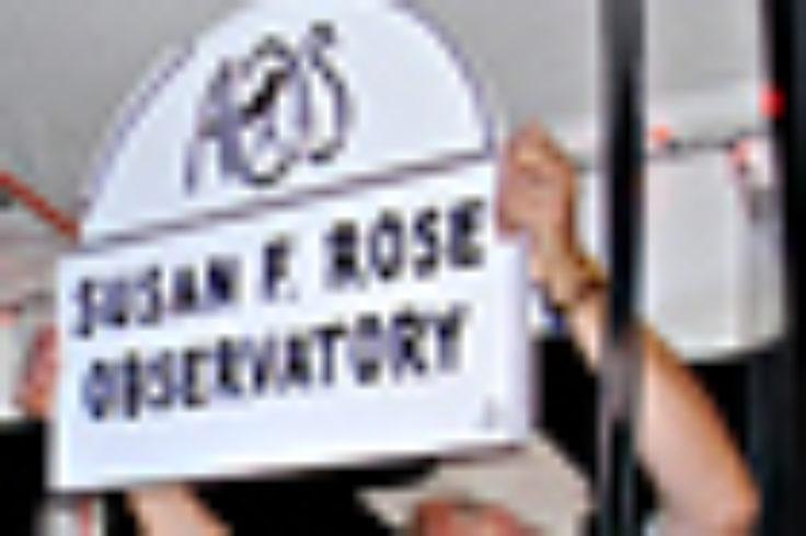 Sue Rose honored
