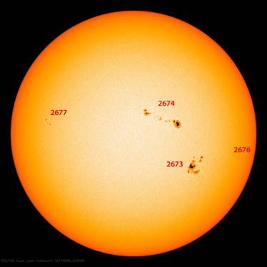 Sunspot Region Guide
