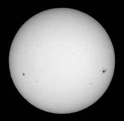 Sunspot group 10069