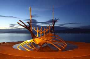 Sunship sculpture