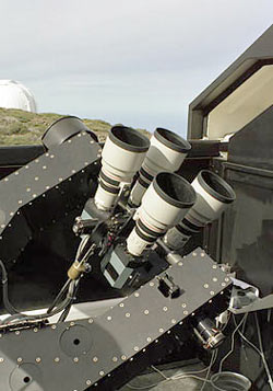 Four SuperWASP cameras