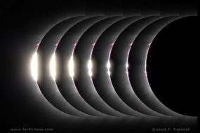 Eclipse Photography: Diamond Ring and Baily's Beads