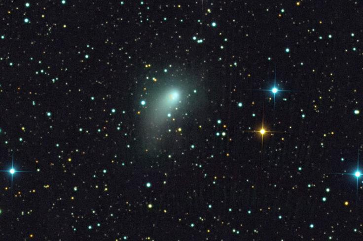 Comet PanSTARRS blooms