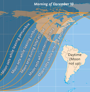 Where to see December's eclipse