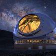 Thirty Meter Telescope at night