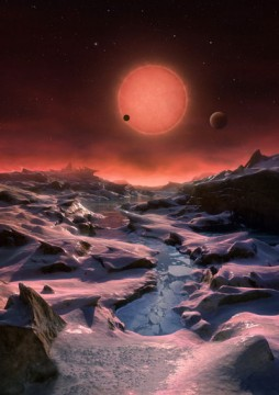 TRAPPIST-1d artist's illustration
