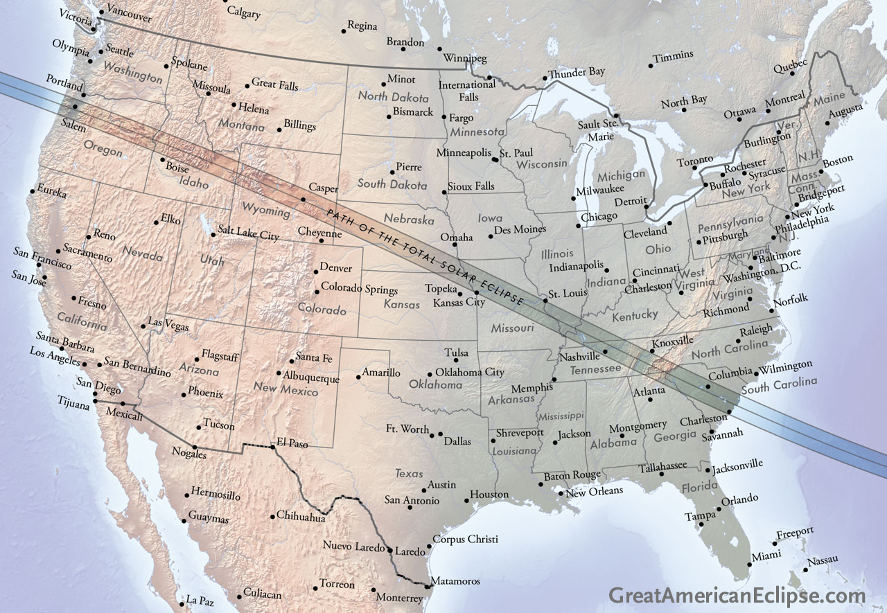 2017 eclipse track with cities