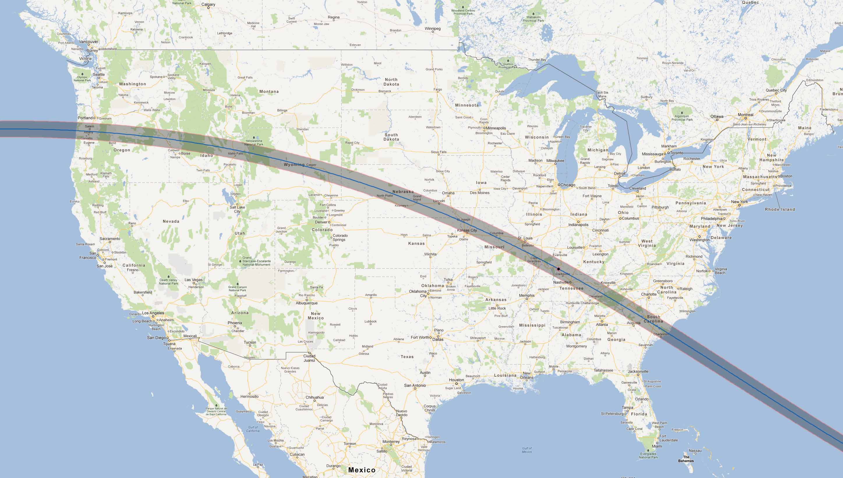 RV Guide for the 2017 eclipse path across the U.S.