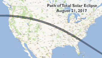 2017 eclipse path across U.S.