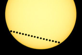 The transit of Venus, June 2004