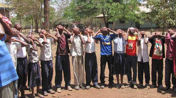 Tanzania Solar Eclipse