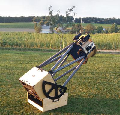 Teeter S Telescopes Custom Dobsonian Sky Amp Telescope