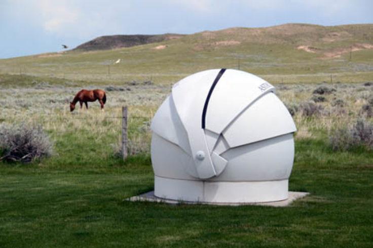 Telescope at Glendo School