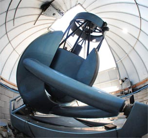 32-in ch telescope at Tenagra Observatories