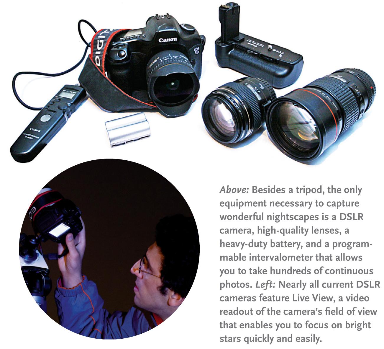 Nightscape equipment