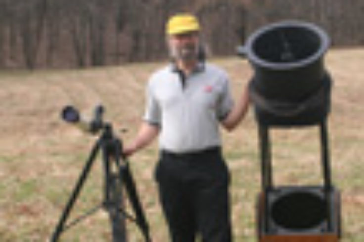 Tony Flanders's biggest and smallest telescopes.