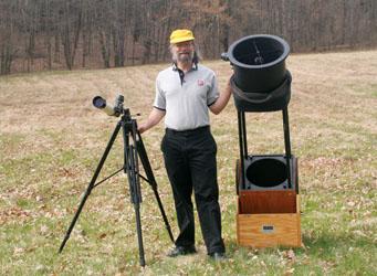 telescopes big and small