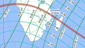 Track of Sept 1 annular eclipse