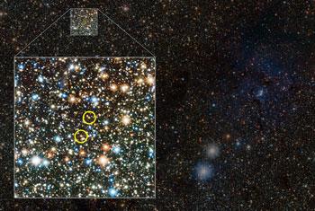 Two Cepheids on Milky Way's far side