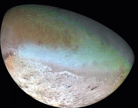 Icy weirdness on par with Pluto