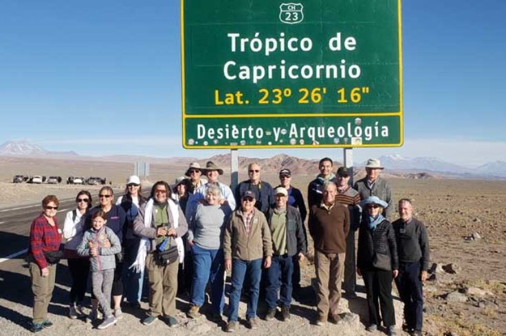 Tropic of Capricorn in Chile 2019