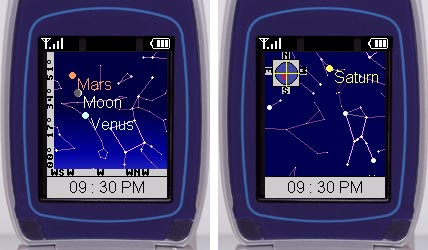 S&T's Mobile Sky Chart