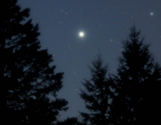 Mystery Object? No, Just Sirius