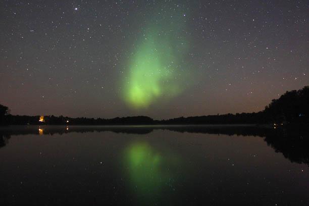 Reflected Aurora