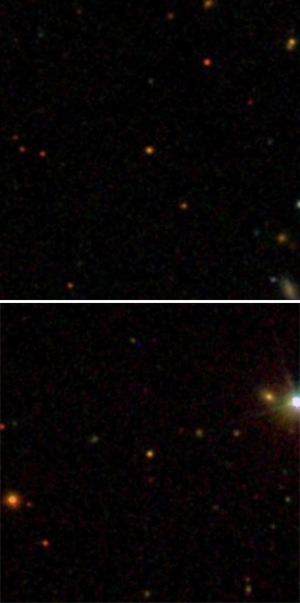 distant red giant stars