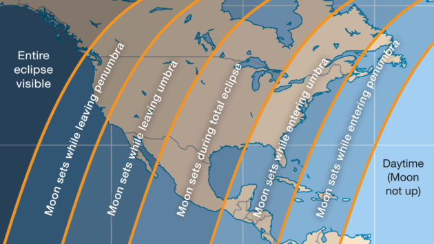 Lunar Eclipse Map Where to Watch the Lunar Eclipse Online | Sky & Telescope Lunar Eclipse Map
