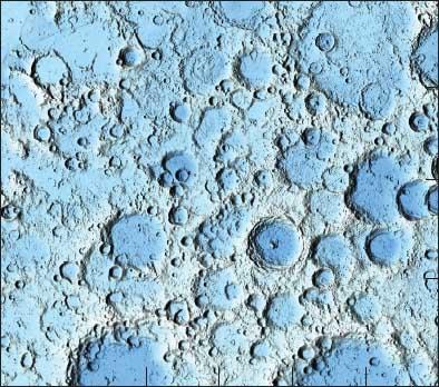 USGS Lunar Map showing Tycho