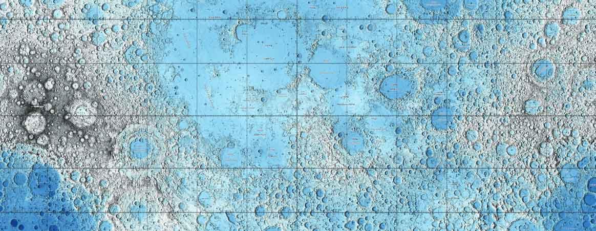 USGS Lunar Map (topographicversion)