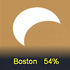 November 3rd's partial solar eclipse at sunrise